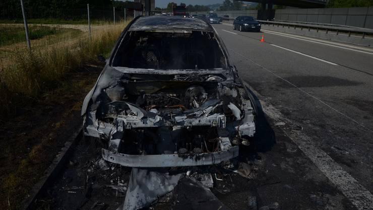 Verletzt wurde beim Brand niemand.