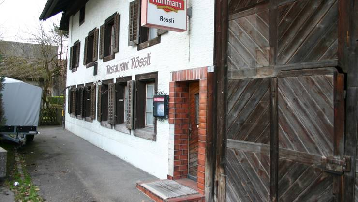 Bald könnte wieder eine Gastwirtschaft im «Rössli» einziehen. Aru