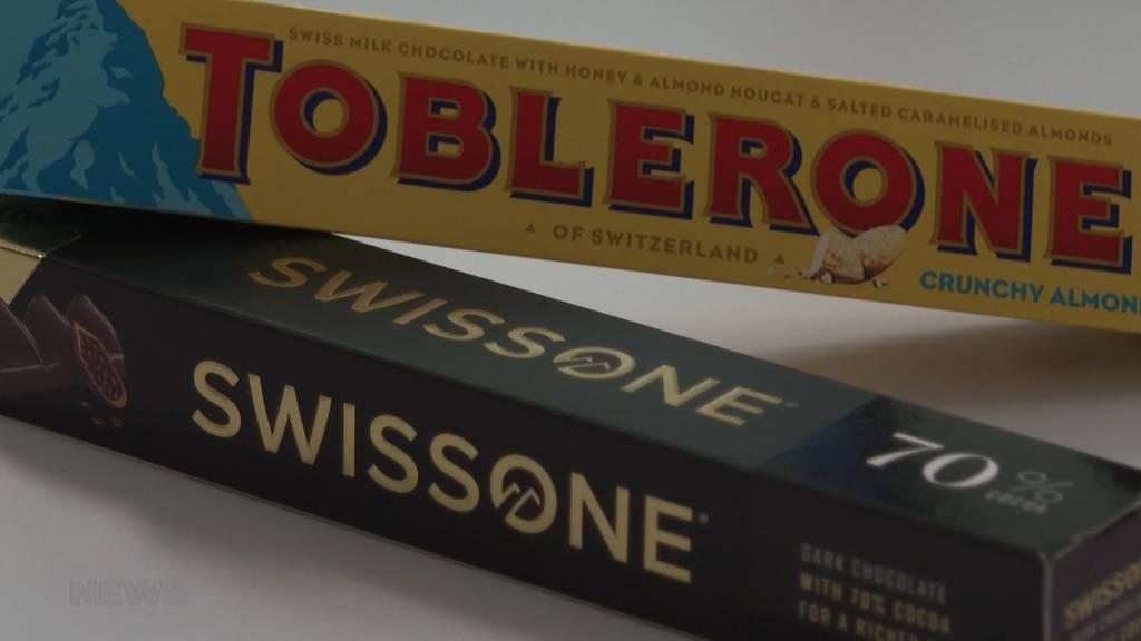 Swissone gegen Toblerone: Berner Start-Up entscheidet Schoggi-Krieg gegen Toblerone für sich