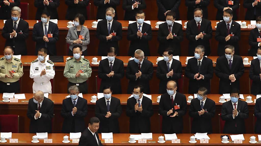 China geht auf Konfrontation mit der Sonderverwaltungszone Hongkong und der nationale Volkskongress billigte am Dienstag ein umstrittenes Sicherheitsgesetz einstimmig. (Archivbild)