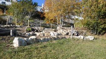 Im Juragarten unterhalb des Kurhauses Weissenstein gestalten Trockenmauern das Areal, auf dem fast ausschliesslich Pflanzen gezogen werden, die zur Pflanzenwelt des Juras gehören.