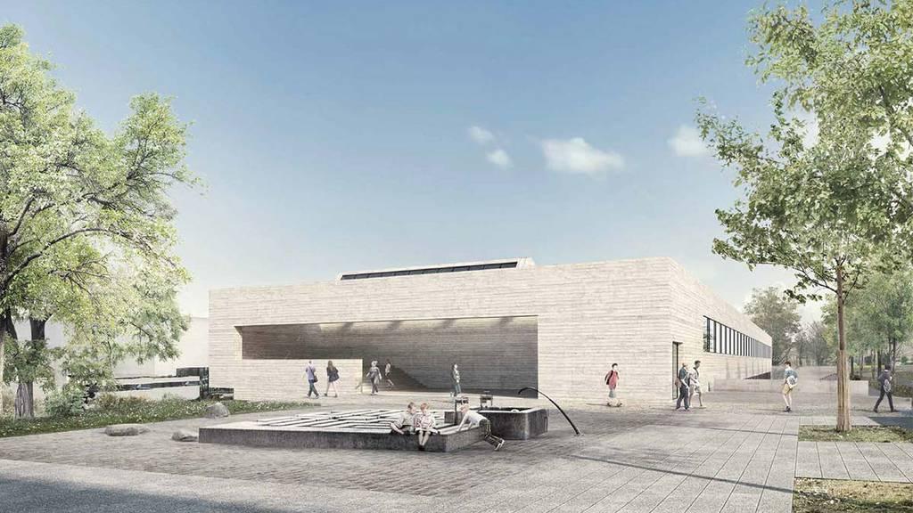 So soll der neue Bau für die Pädagogische Hochschule in Kreuzlingen aussehen.