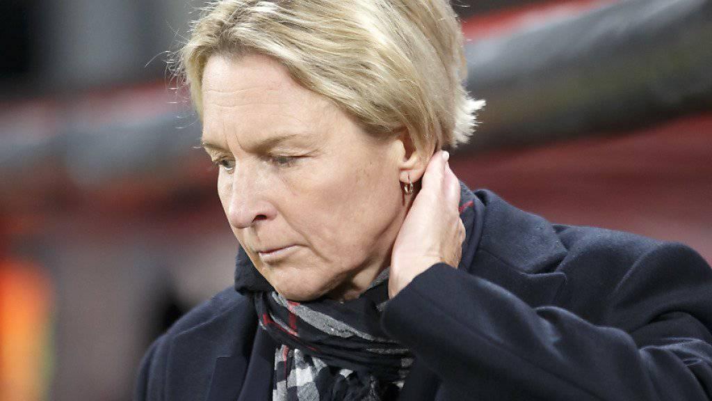Martina Voss-Tecklenburg hat im Schweizer Frauen-Fussball einiges bewegt