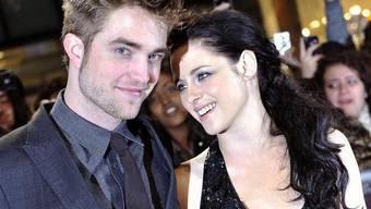 Wer ist hier das Mädchen? Kristen Stewart und Robert Pattinson (Archiv)