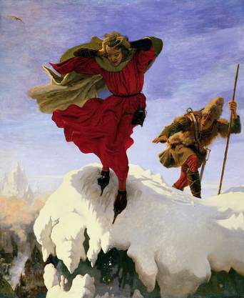 An Englishman paints Switzerland: Ford Madox Brown, Manfred on the Jungfrau