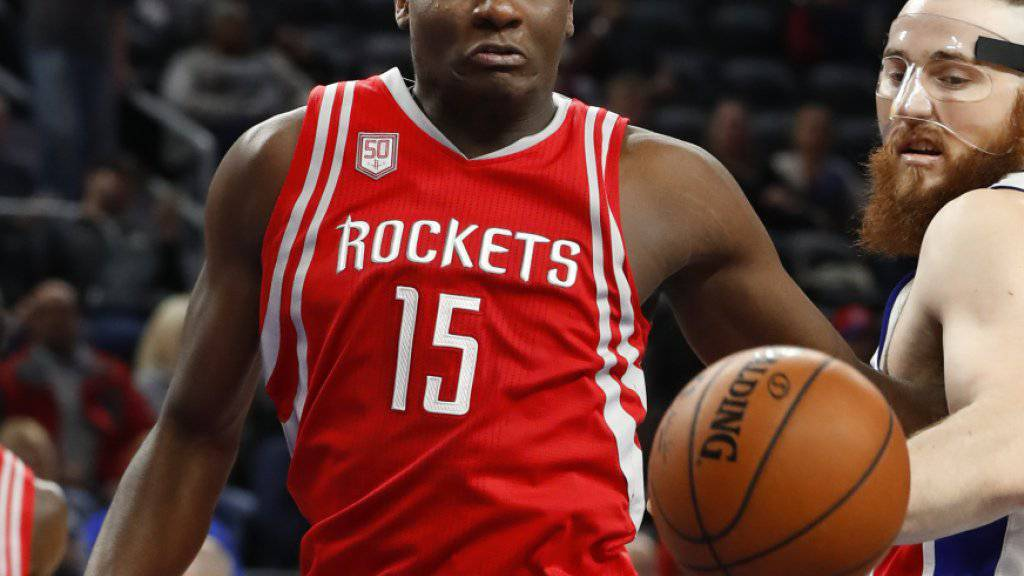 Der Genfer NBA-Profi Clint Capela weiss bei den Houston Rockets derzeit zu überzeugen
