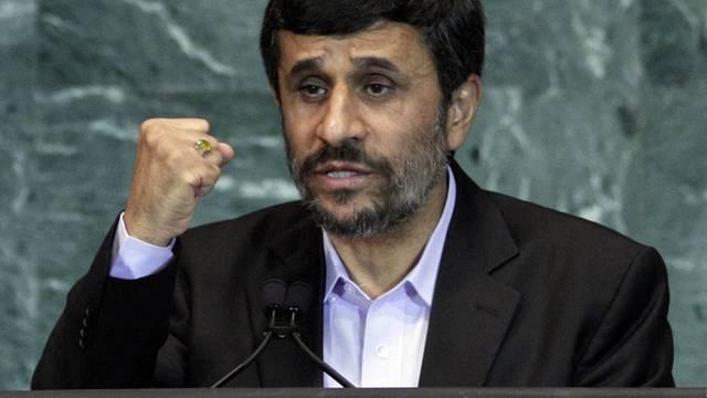 Ahmadinedschad mit Vorwürfen an die USA (Archiv)