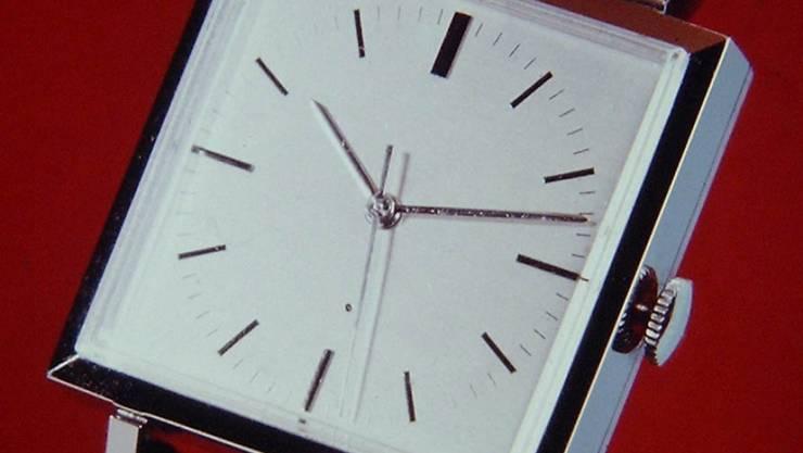Hinter der Armbanduhr Beta 1 standen fünf Jahre Entwicklungszeit.