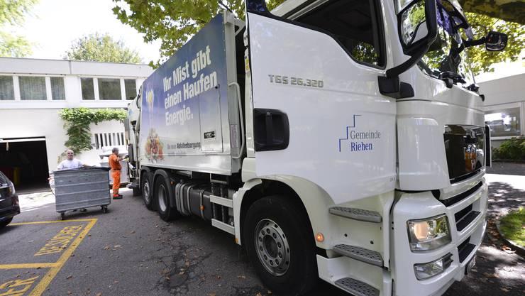 Noch hat die Gemeinde Riehen eine eigene Müllabfuhr.