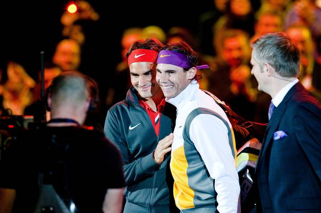 Roger Federer und Rafael Nadal bestreiten das «Match for Africa 6».