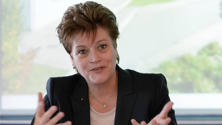 Bildungsdirektorin Silvia Steiner (CVP) nimmt mit grosser Freude zur Kenntnis, dass die Vorlage abgelehnt worden sei. (Archivbild)