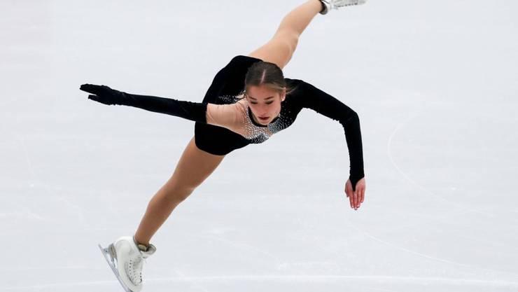 Schweizer Meisterin Yasmine Kimiko Yamada an der EM in Ostrava