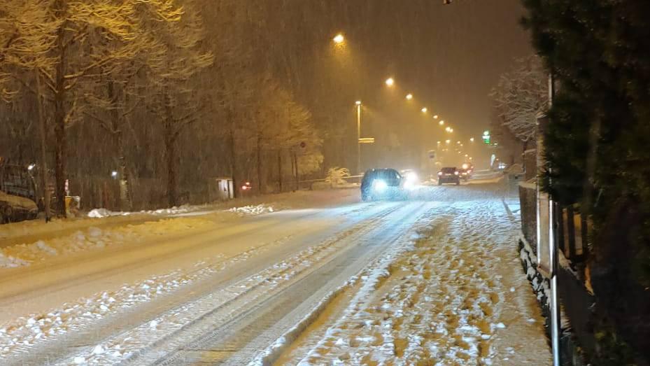 «Der Schnee sorgt für rutschige Verhältnisse»
