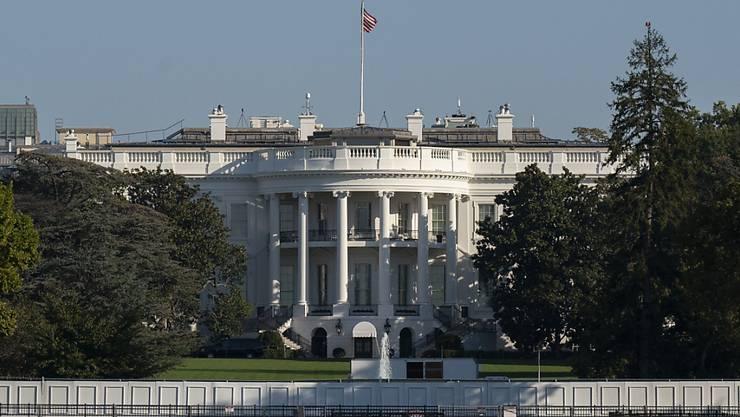 Das Weiße Haus ist in Washington zu sehen. Foto: Carolyn Kaster/AP/dpa