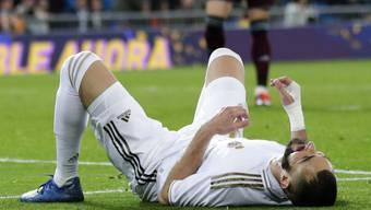 Karim Benzema kam mit Real Madrid gegen Celta Vigo nur zu einem Punkt
