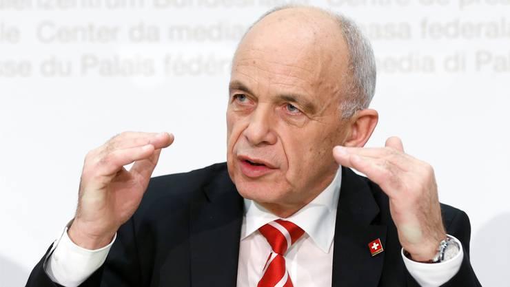 Die Bedeutung internationaler Standards habe zugenommen, hält der Bundesrat (im Bild: Finanzminister Ueli Maurer) fest. Das führe tendenziell dazu, dass der Schweizer Finanzplatz sich von anderen weniger abheben könne.