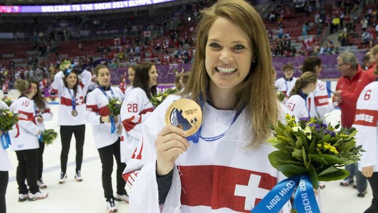 Wurde an den Olympischen Spielen in Sotschi zum MVP gewählt: Florence Schelling.