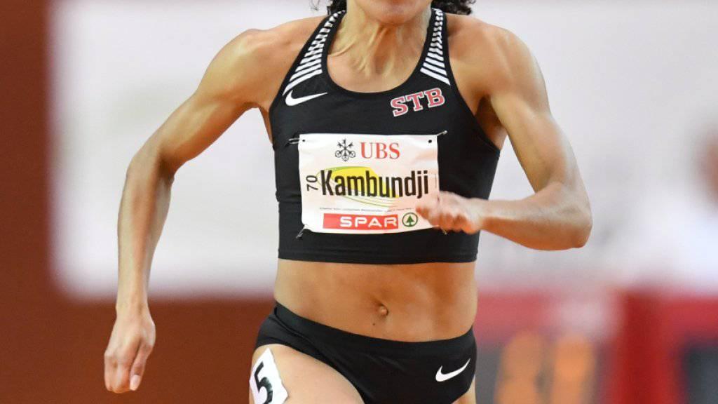 Mujinga Kambundji brillierte in St. Gallen