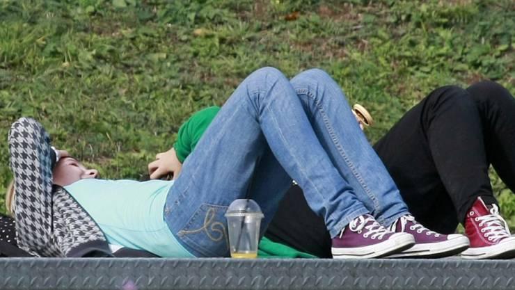 Die neueste Mode: Jugendliche dröhnen sich mit Medikamenten zu. Xanax ist ein Beruhigungsmittel mit einem Wirkstoff aus der Gruppe der Benzodiazepine. (Archivbild)
