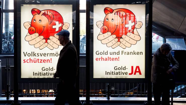 Ein Ja zur Goldinitiative würde die SNB in ihrer Aufgabe einschränken, für Preisstabilität zu sorgen.