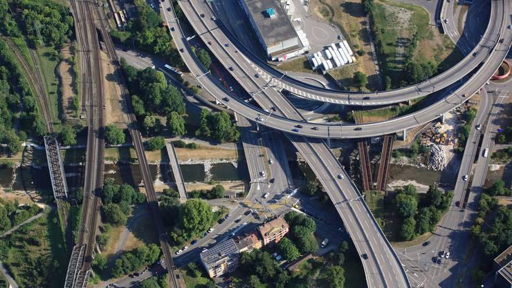 Die Nordtangente in Basel ist vom 7. bis 11. während vier Nächten gesperrt.