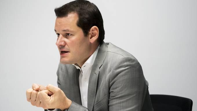 Die Genfer Wählerinnen und Wähler sollen über seine Zukunft entscheiden: Pierre Maudet.