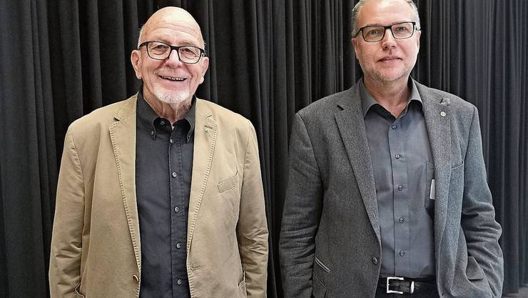 Willy Buchser (l.) und Sergio Tagliaferri leiten die Nordpark AG.