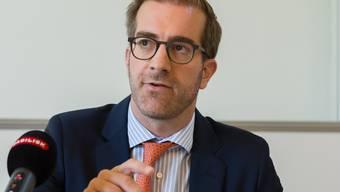 Der Basler Erziehungsdirektor Conradin Cramer (LDP).