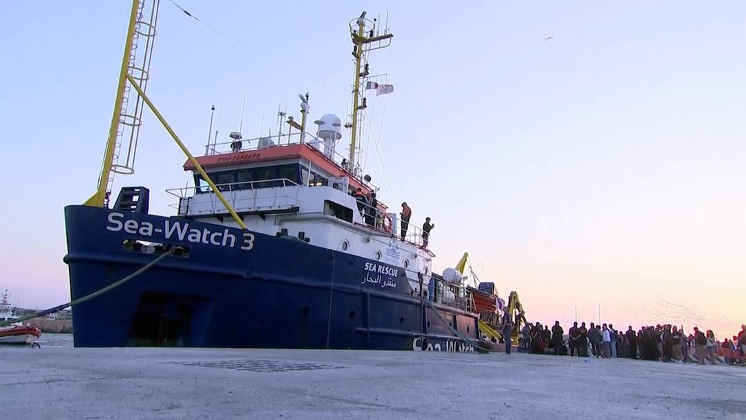 Mehrere Jahre Gefängnis für «Sea-Watch 3»-Kapitänin