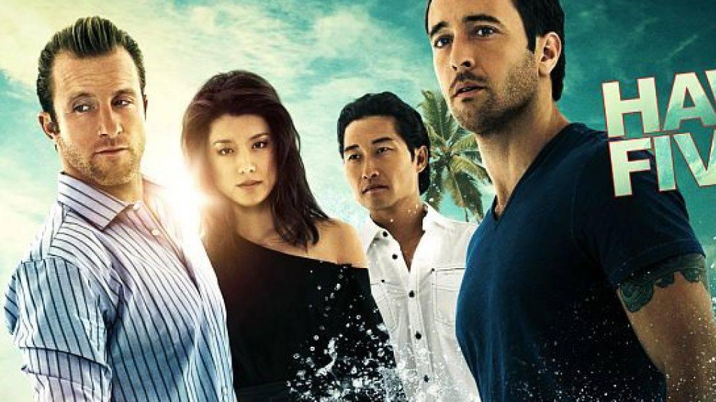Ein Bild der Vergangenheit: Mit Grace Park und Daniel Dae Kim (Mitte) fällt die Hälfte des «Hawaii Five-O»-Teams weg. Die Produzenten wollten ihre Gagen nicht denen ihrer weissen Kollegen anpassen. (Pressebild)