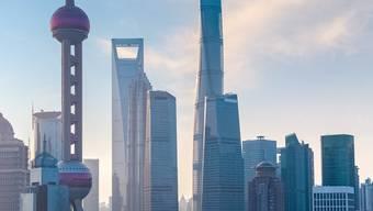 Öffnet sich der Konkurrenz: chinesisches Finanzzentrum in Schanghai.