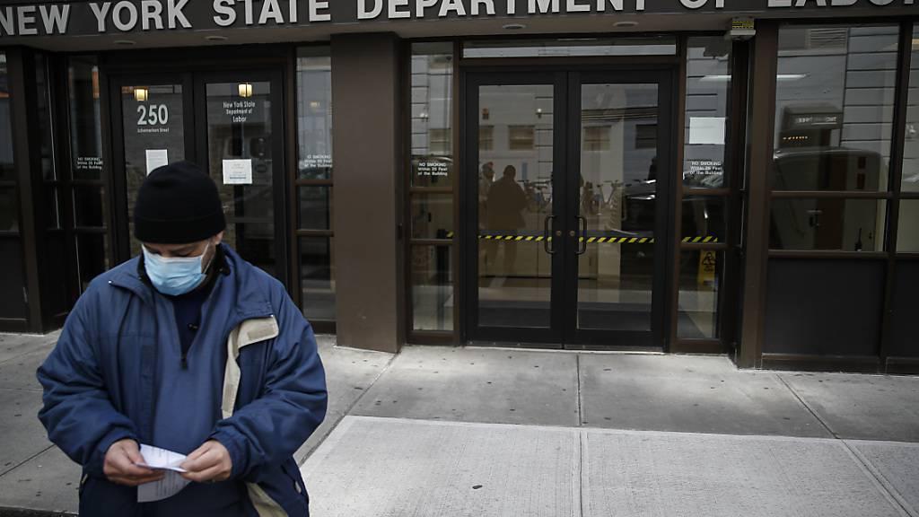 Coronavirus: Lage am US-Arbeitsmarkt verschlechtert sich dramatisch