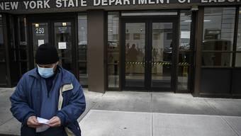 In den USA droht laut Ökonomen ein Anstieg der Arbeitslosenraten auf mehr als 10 Prozent. (Archivbild)