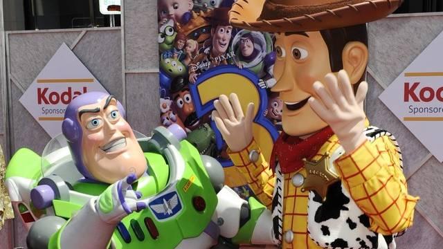 Die Hauptdarsteller von Toy Story 3 freuen sich über Traumstart (Archiv)
