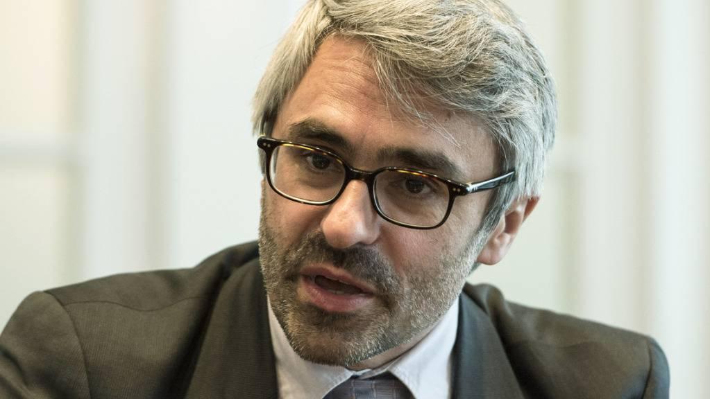 Pascal Saint-Amans, OECD-Direktor für Steuerpolitik, verteidigt die angestrebte weltweite Konzernsteuerreform. (Archivbild)