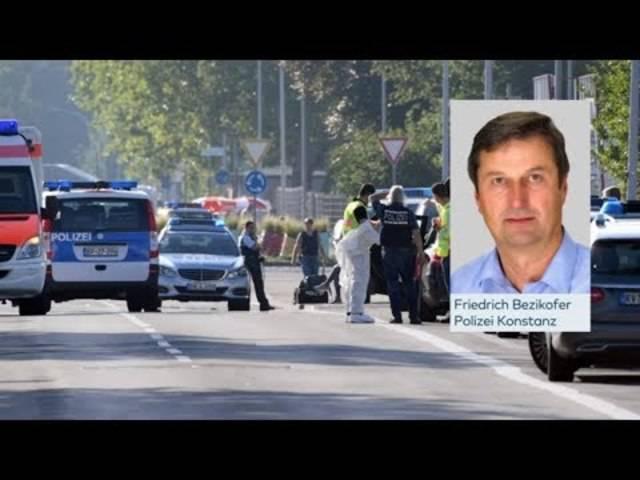Der deutsche Nachrichtensender N24 befragte nach der Schiesserei im Nachtclub einen Konstanzer Polizisten zum Fall.