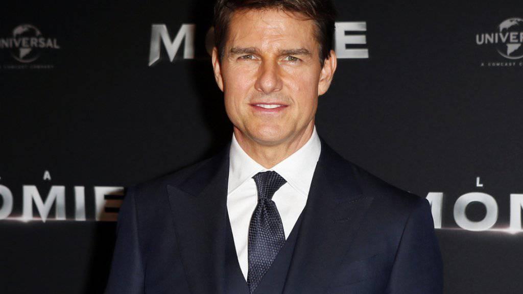 Tom Cruise spielt in der US-Komödie «American Made» die Hauptrolle. Der Film übernahm am Wochenende vom 7. bis 10. September 2017 die Spitze der Deutschschweizer Kinocharts. (Archiv)