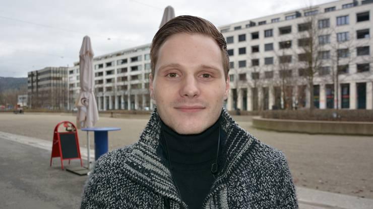 Sven Kreissner (23), Konstanz