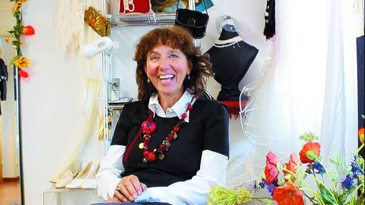 Überzeugt: Ruth Jaeggi: «Der Bräutigam soll seine Braut erst am Hochzeitstag im Brautkleid sehen.» (bel)