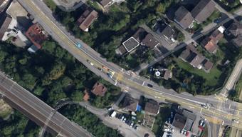 Der Unfall ereignete sich bei der Kreuzung Altbrunnenweg/Kasernenstrasse.