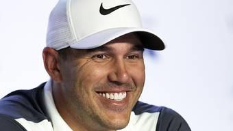 Topfavorit Brooks Koepka scheint vor dem US Open entspannt zu sein
