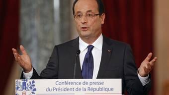 Frankreichs Präsident François Hollande sprach von einer ernsten Lage