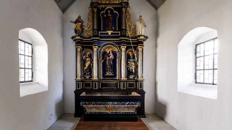 Die St. Antonius-Kapelle in Deitingen wurde im Innen-und Aussenbereich komplett restauriert