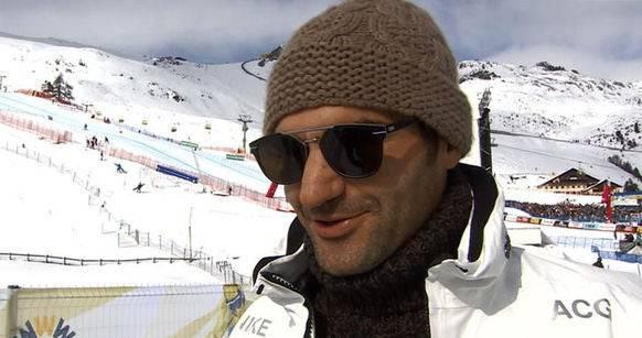 Roger Federer an der Ski-WM 2017 in St.Moritz.