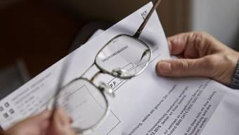 Schluss mit gratis: Im Kanton Aargau werden künftig Mahngebühren für Steuererklärungen in Rechnung gestellt. (Symbolbild)
