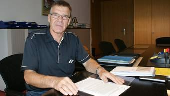 Gemeindeammann Heinz Kim stellt sich in Zuzgen zur Wiederwahl. archiv