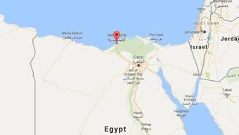 Die Zugkollision ereignete sich in der Nähe der ägyptischen Hafenmetropole Alexandria.