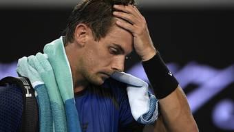 Henri Laaksonen wird auch wieder für das Schweizer Davis-Cup-Team leiden