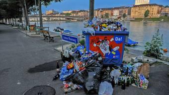 Abfallhalden und eine Gestaltung am Limit: Das ganze Basler Rheinufer braucht ein neues Konzept.