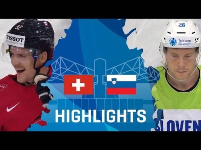 Schweiz - Slowenienvenia | Highlights | #IIHFWorlds 2017